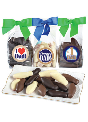 Fathers Day Chocolate Enrobed Swedish Fish
