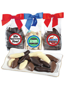 Teacher Appreciation Chocolate Enrobed Swedish Fish