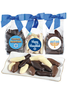 Hanukkah Chocolate Enrobed Swedish Fish