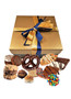 Make-Your-Own Box of Treats - Blue/Gold