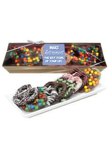 Retirement Chocolate Pretzel Box