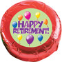 Retirement Chocolate Oreo Cookie - Red