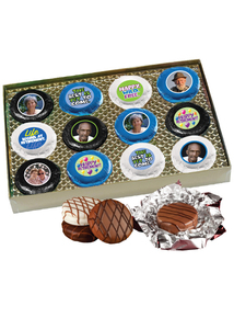Retirement 12pc Chocolate Oreo Box