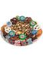 Retirement Popcorn & Cookie Message Platter - No Label