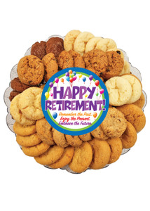 Retirement All Natural Smackers Cookie Platter