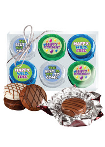 Retirement 6pc Cookie Talk Chocolate Oreos