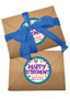Retirement 1lb Assorted Craft Box - Blue