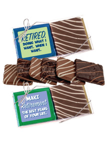 Retirement Chocolate Graham 2pc Box