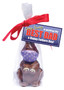 Chocolate Father's Day Quarantine Bunny - Single