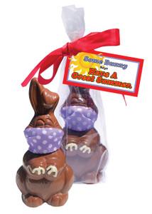 Quarantine Summer Chocolate Bunny