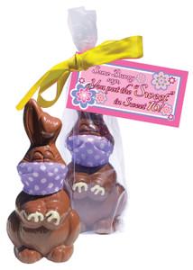 Sweet 16 Quarantine Chocolate Bunny