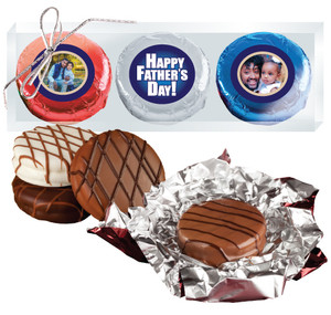 Father's Day Chocolate Oreo Photo Trio
