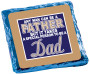 Father's Day Chocolate Graham - Blue