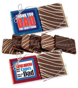 Father's Day Chocolate Graham Duo