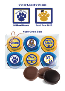 Milford Brook 6pc Chocolate Oreo Box
