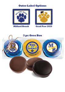 Milford Brook 3pc Chocolate Oreo Box