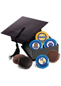 Milford Brook Graduation Cap with Chocolate Oreo Cookies