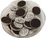 Dark Chocolate Nonpareils - White