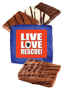 Live Love Rescue Chocolate Graham