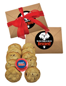 Dog Rescue Chocolate Chip Cookie Craft Box
