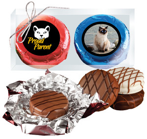 Cat Rescue Chocolate Oreo Photo Duo