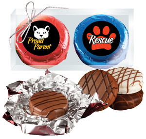 Cat Rescue Chocolate Oreo 2pc Box