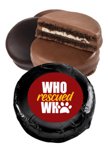 Who Rescued Who Chocolate Oreo