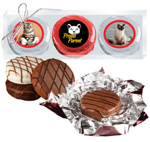 Cat Rescue Chocolate Oreo Photo 3pc Box