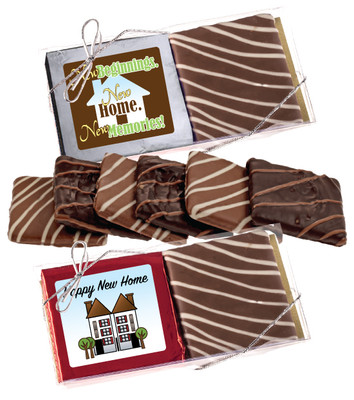 New Home Chocolate Graham 2pc Box