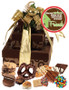 New Home 3 Tier Tower of Treats - Gold & Brown
