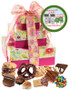 New Home 3 Tier Tower of Treats - Pink