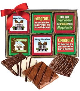 New Home Chocolate Graham 12pc Box