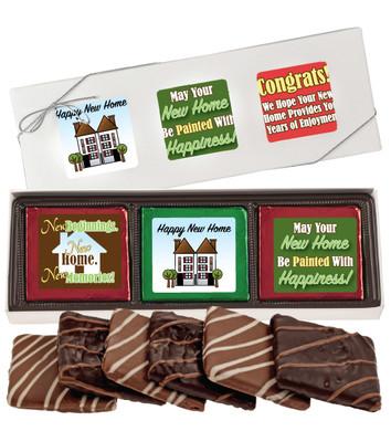 New Home Chocolate Graham 6pc Box