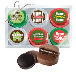 New Home Chocolate Oreo 6pc Box