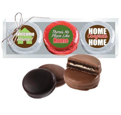New Home Chocolate Oreo 3pc Box