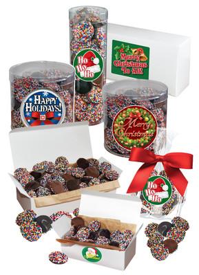 Christmas Nonpareils - Multi-Colored