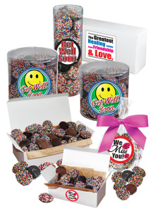 Get Well Nonpareils - Multi-Colored