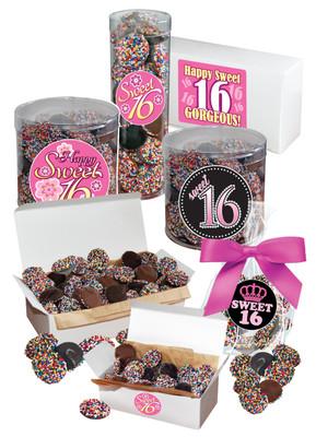 Sweet 16 Nonpareils - Multi-Colored
