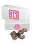 Sweet 16 Nonpareils Boxes - Multi-Colored