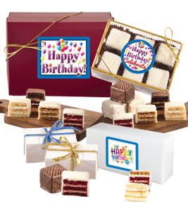 Happy Birthday Petit Fours