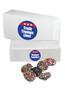 Democrat Nonpareils White Boxes - Multi-Colored
