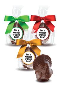 Thanksgiving Solid Milk Chocolate Turkeys