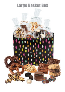 Large Basket Box of Gourmet Treats