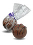 Hot Cocoa Bombs - Bag with Purple ribbon
