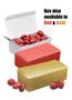 Christmas Chocolate Red Cherries - Red & Gold Box