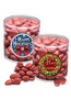 Christmas Chocolate Red Cherries - Wide Clear Cylinder
