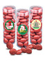 Christmas Chocolate Red Cherries - Tall Clear Cylinder