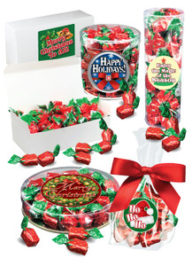 Christmas Strawberry Soft-filled Hard Candy