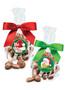 Christmas Colossal Chocolate Raisins - Favor Bag