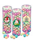 Christmas Chocolate Mints - Tall Clear Cylinder